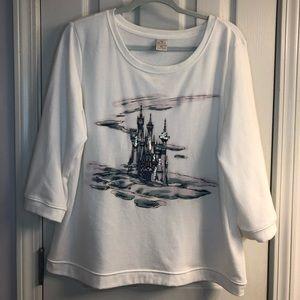 Disney Cinderella Castle Lauren Conrad Shirt